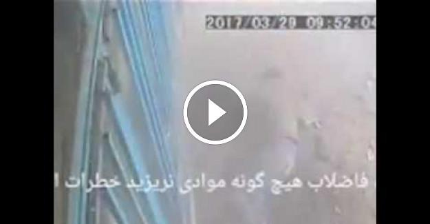 Sigarayı Attığı Delik Bomba Gibi Patladı