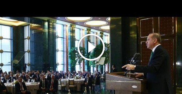 Cumhurbaşkanı Erdoğan Yargıda Birlik Derneği Üyelerine Sesleniyor