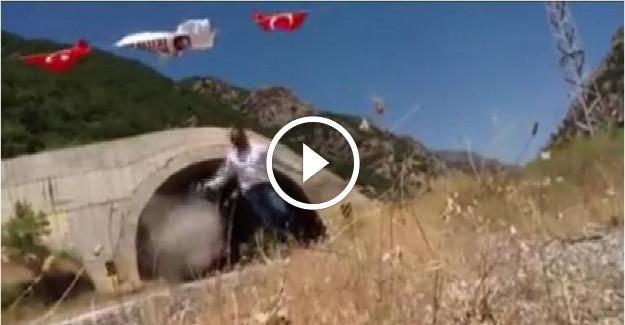 Bayrak Asan Tır Şoförüne Teröristler Saldırdı