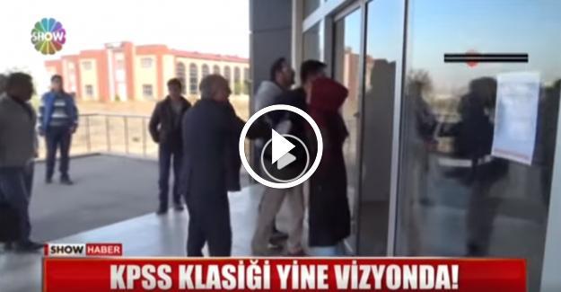 KPSS Ön Lisans Sınavına Geç Kalan Adaylar Sınav Salonlarına Alınmadı