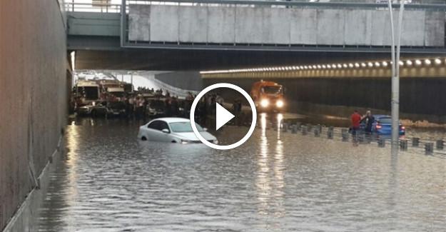 Ankara Sel Altında Kaldı!