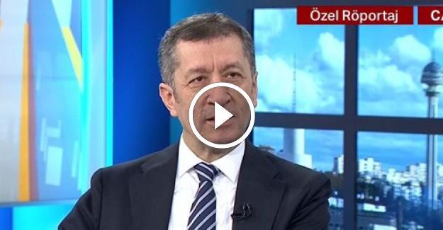 Bakan Ziya Selçuk'un Öğretmen Atamaları İle İlgili NTV'ye Yaptığı Açıklamalar