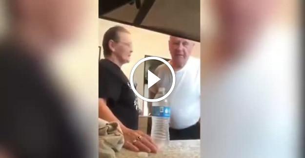 Yaşlı Çiftin Hayat Dolu Enerjisi İzleyenleri Güldürdü