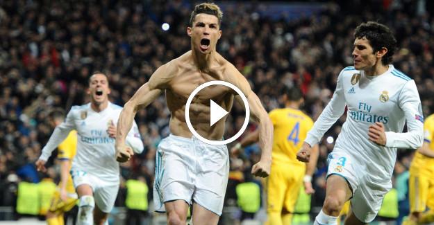 Real Madrid Juventus Şampiyonlar Ligi Maç Özeti! Buffon İlk Defa Kırmızı Kart Gördü