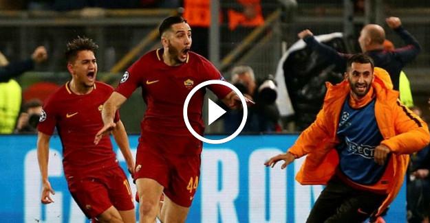 Roma- Barcelona Şampiyonlar Ligi Maçının Özeti! Cengiz Ünder Tarih Yazdı