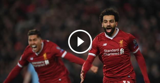 Manchester City Liverpool Şampiyonlar Ligi Maç Özeti! Mohamed Salah Takımı İpten Aldı