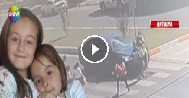 Trafik Canavarı Anne ve İki Kızına Çarptı