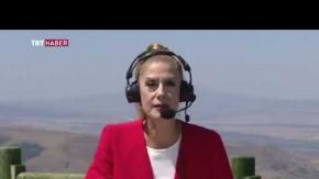 TRT Haber spikerinin canlı yayında bayılma anları kameralara böyle yansıdı!