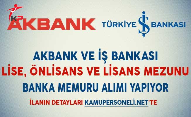 akbank ve is bankasi banka memuru